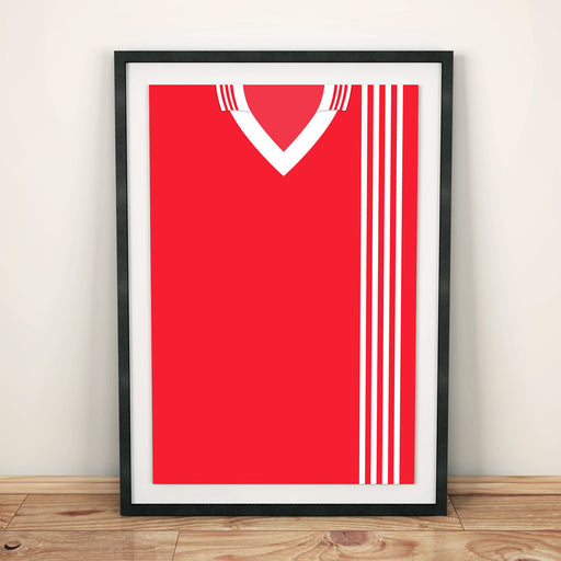 Aberdeen 1976 Football Shirt Art Print