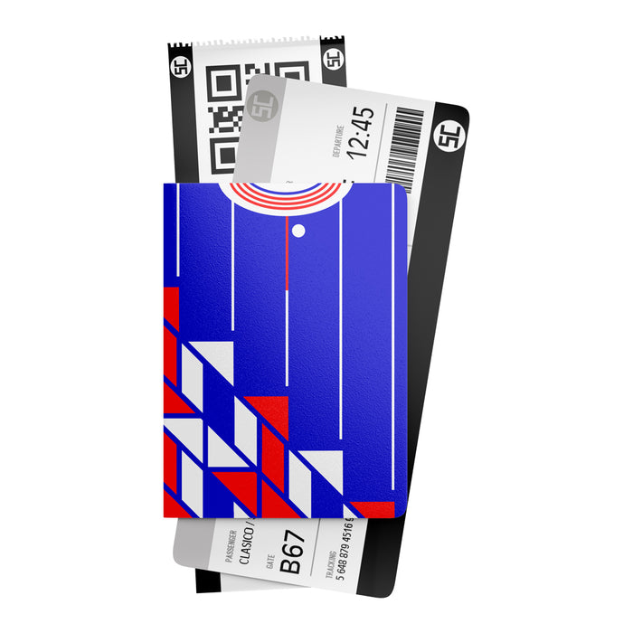 Ajax 1990 Away Retro Passport Holder