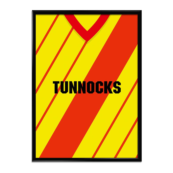 Albion Rovers 1983-85 Football Shirt Art Print