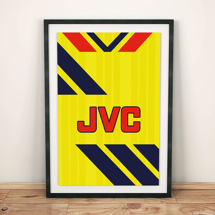 Arsenal 1984 Away Football Shirt Art Print