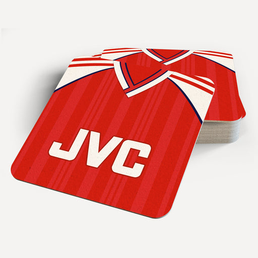 Arsenal 1988 Retro Coaster - Soccer Clasico