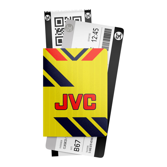 Arsenal 1984 Away Retro Passport Holder
