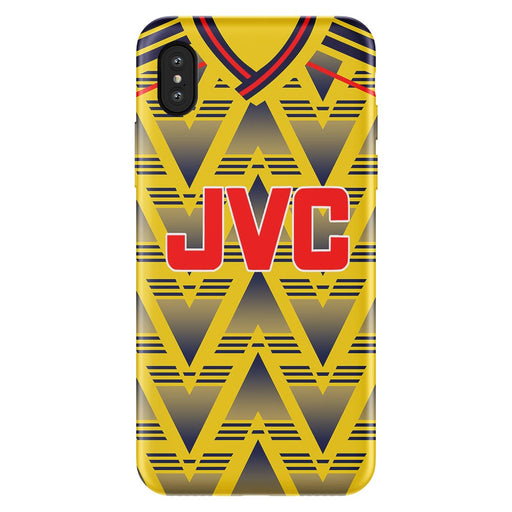Arsenal 1991 Away iPhone & Samsung Galaxy Phone Case - Soccer Clasico
