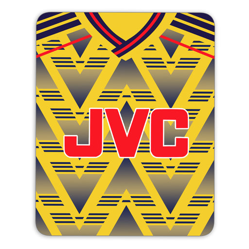 Arsenal 1991 Retro Away Mouse Mat - Soccer Clasico