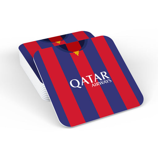 Barcelona 14/15 Football Retro Coaster