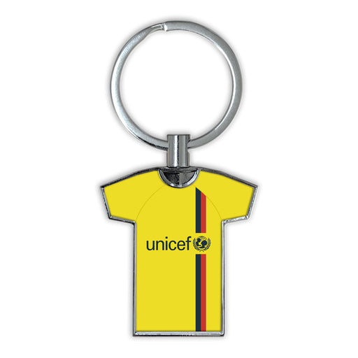 Barcelona 08/09 Away Football Shirt Keyring