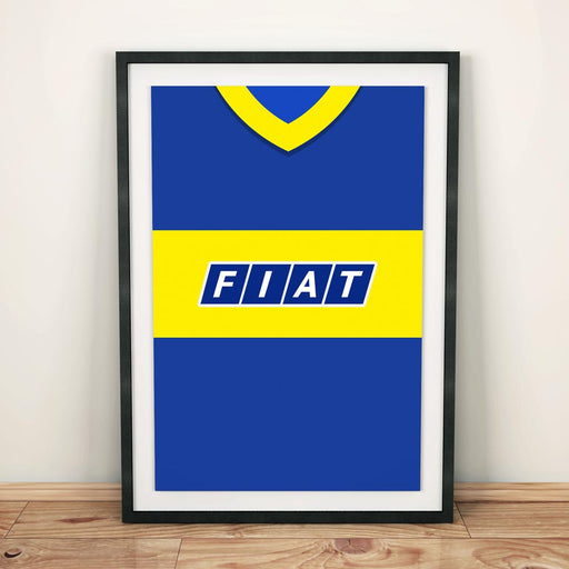 Boca Juniors 1990 Football Shirt Art Print