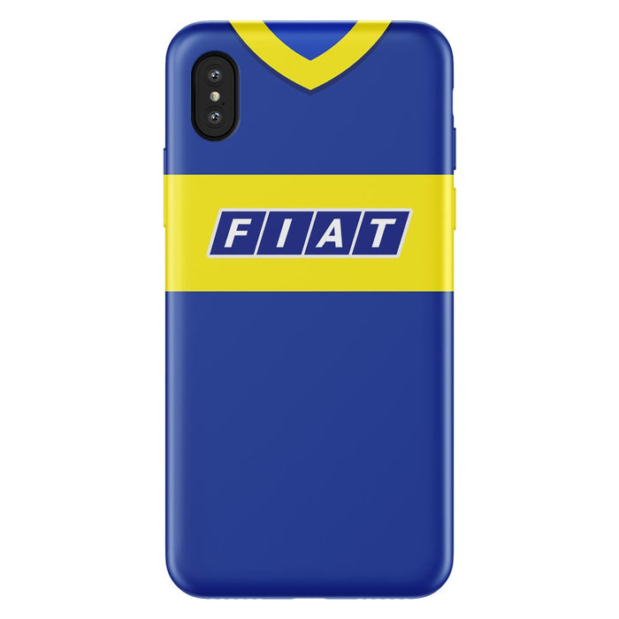 Boca Juniors 1990 iPhone & Samsung Galaxy Phone Case - Soccer Clasico