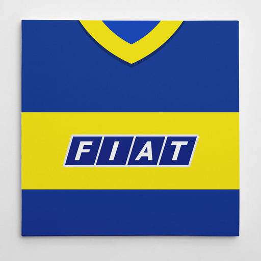 Boca Juniors 1990 Football Canvas Print