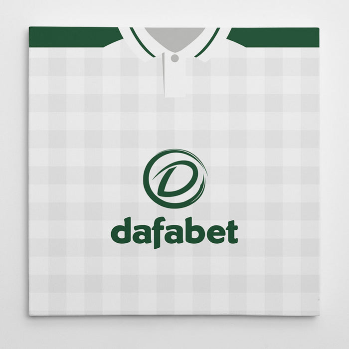 Celtic 18/19 Away Football Canvas Print