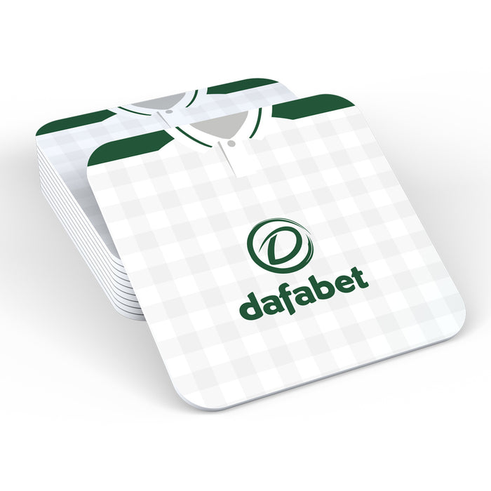 Celtic 18/19 Away Football Retro Coaster
