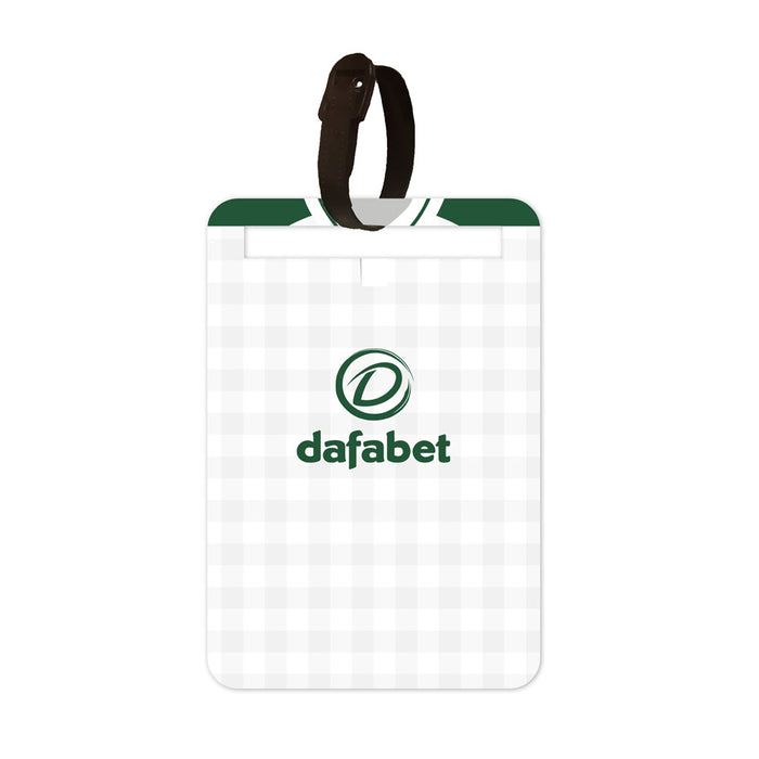 Celtic 2018-19 Away Luggage Tag