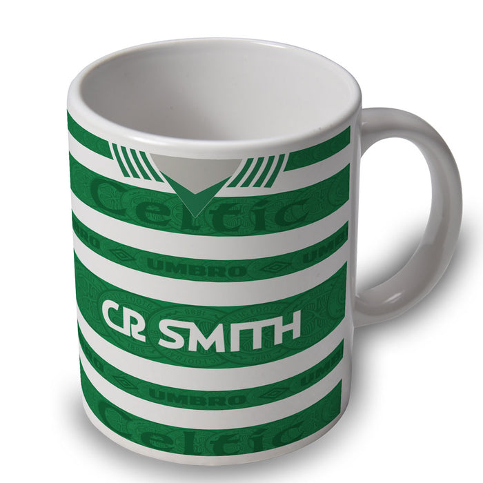Celtic 95/97 Football Retro Ceramic Mug