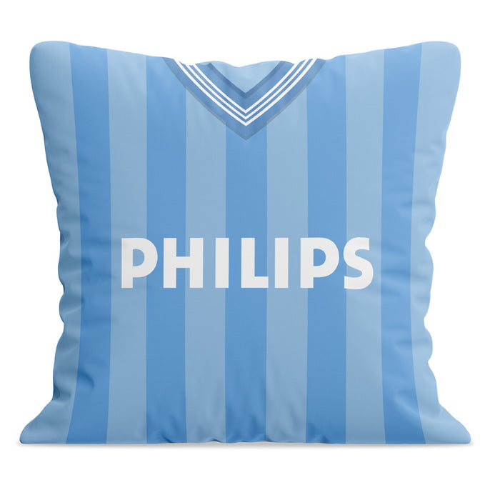 Manchester City 1984 Football Cushion
