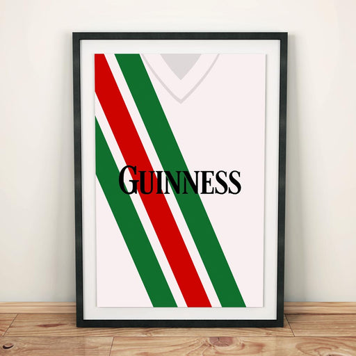 Cork City 1991 Football Shirt Art Print