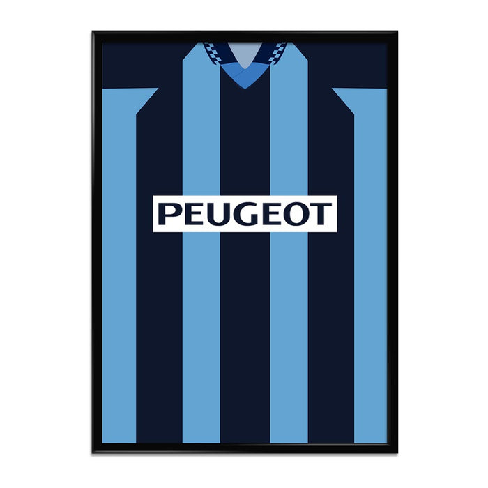 Coventry City 1996 Football Shirt Art Print