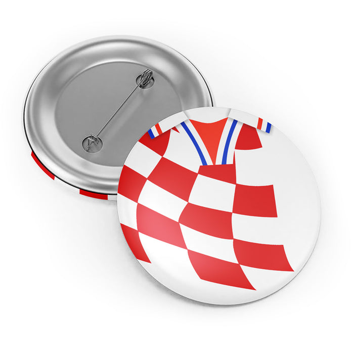 Croatia 1998 Button Badge