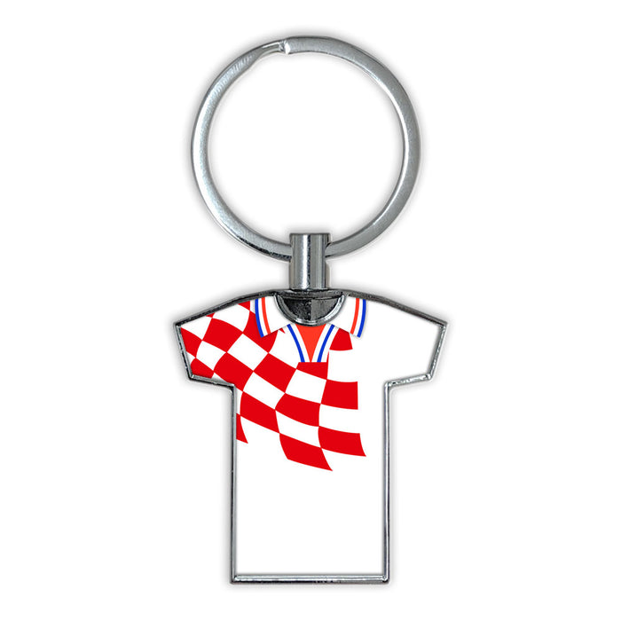 Croatia 1998 Football Shirt Keyring