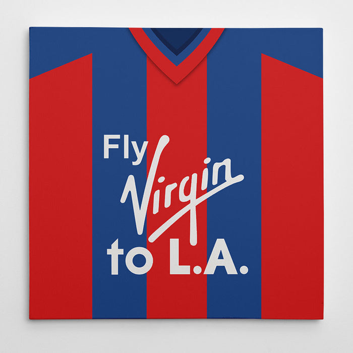 Crystal Palace 1998 Football Canvas Print