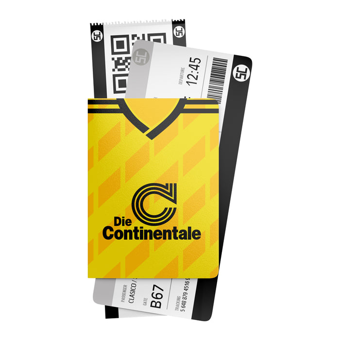 Borussia Dortmund 1986 Retro Passport Holder