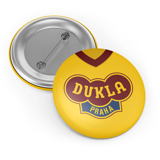 Dukla Prague Retro Button Badge