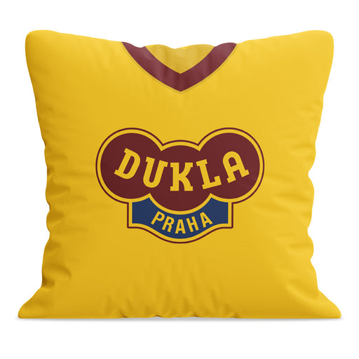 Dukla Prague Retro Football Cushion