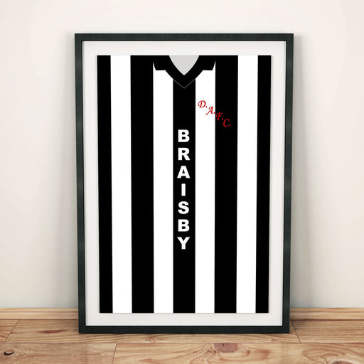 Dunfermline 1980-82 Football Shirt Art Print