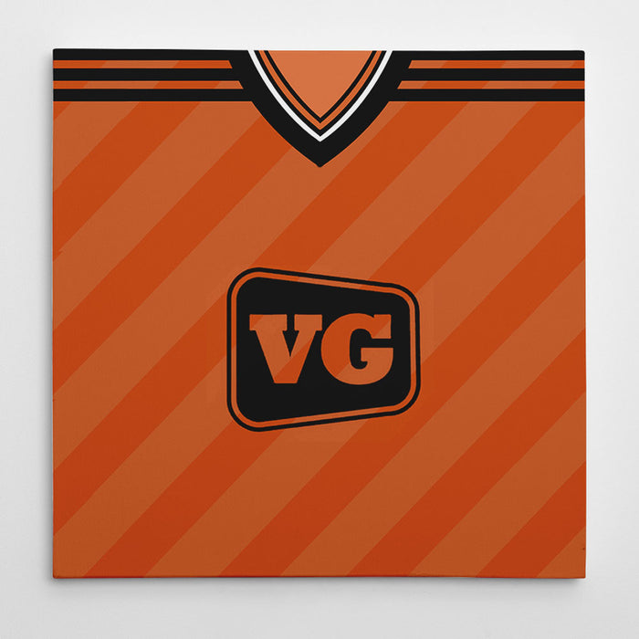 Dundee United 1984-87 Football Canvas Print