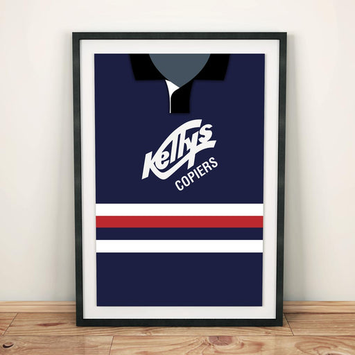 Dundee 1992 Football Shirt Art Print