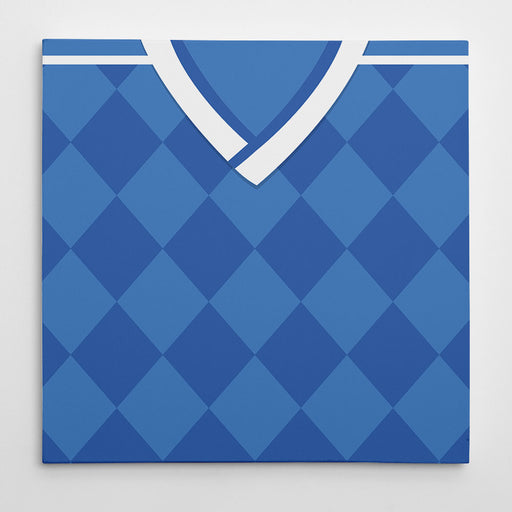 Dynamo Kiev 1994 Away Football Canvas Print