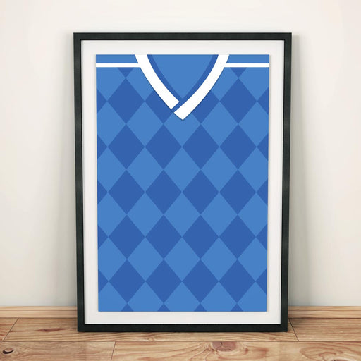 Dynamo Kiev 1994 Away Football Shirt Art Print