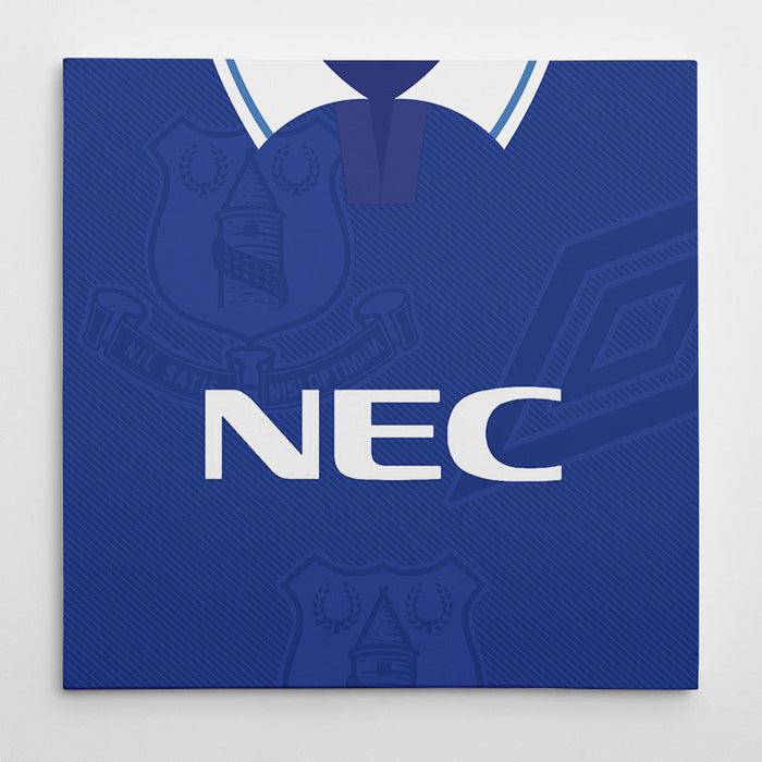 Everton 1993-95 Football Canvas Print