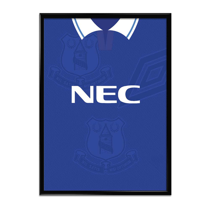 Everton 1993-95 Football Shirt Art Print