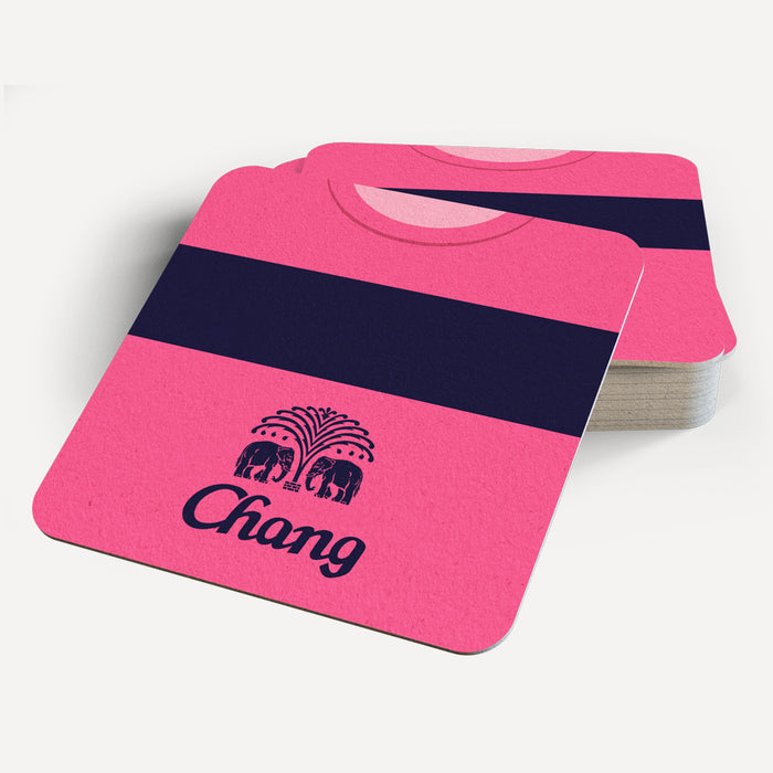 Everton Away Retro Coaster - Soccer Clasico