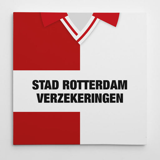 Feyenoord 1993 Football Canvas Print