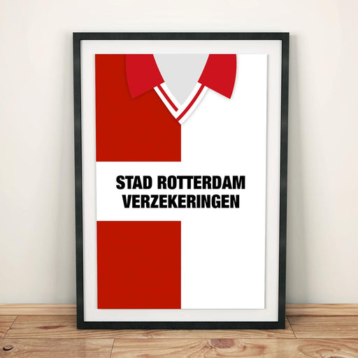 Feyenoord 1993 Football Shirt Art Print