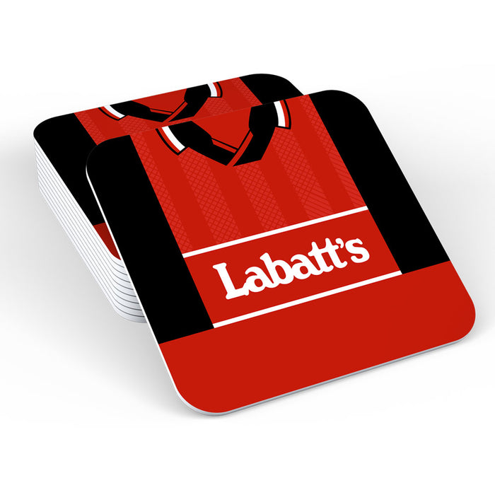 Nottingham Forest 94/96 Football Retro Coaster