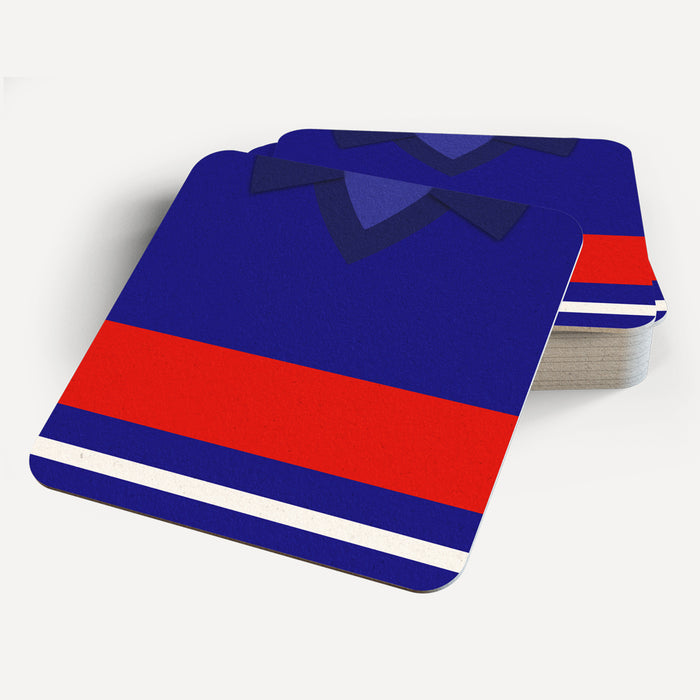 France 1984 Retro Coaster - Soccer Clasico