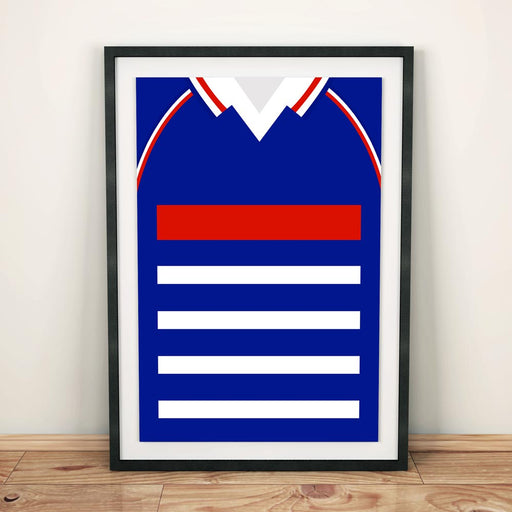 France 1998 Football Shirt Art Print