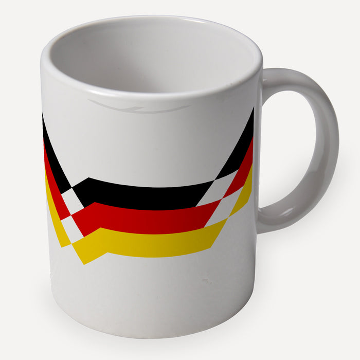 Germany 1990 Retro Ceramic Mug