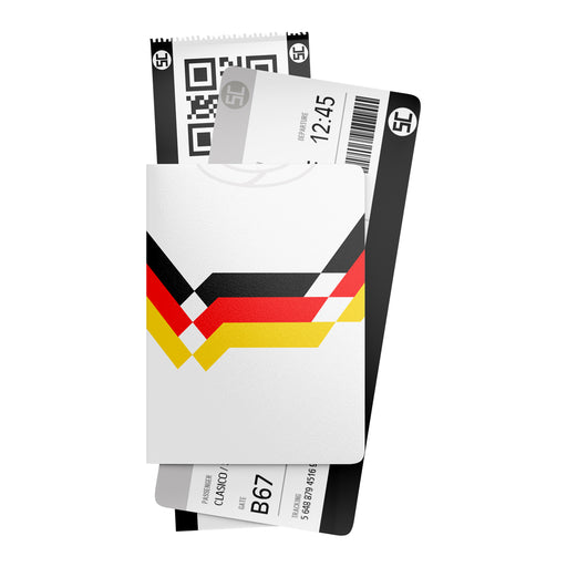 Germany 1990 Retro Passport Holder