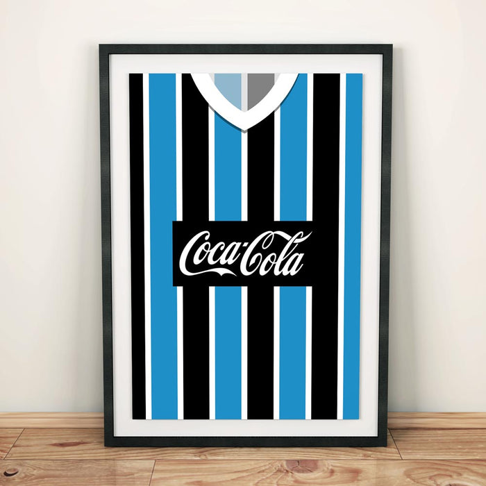Gremio 1989 Football Shirt Art Print