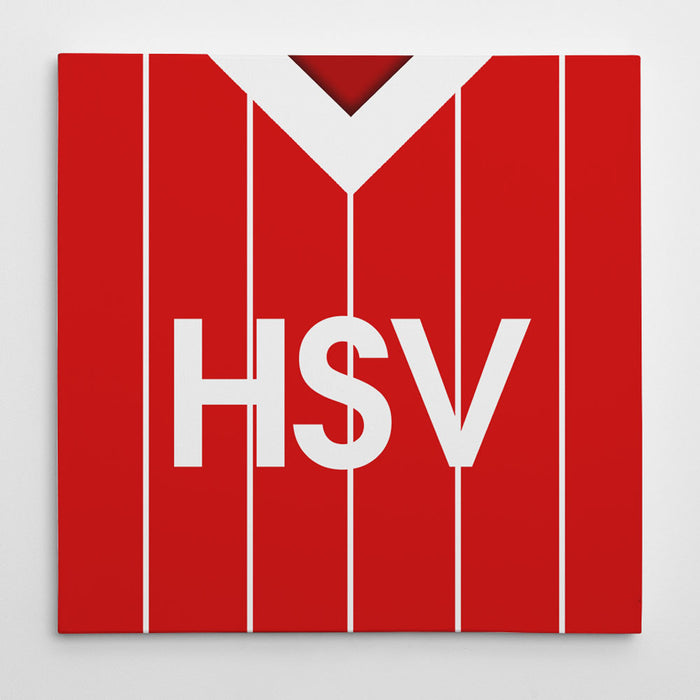 SV Hamburg 1983 Away Football Canvas Print