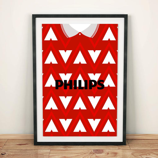 Hamilton Accies 91/93 Football Shirt Art Print