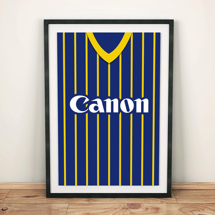 Hellas Verona 1984 Football Shirt Art Print