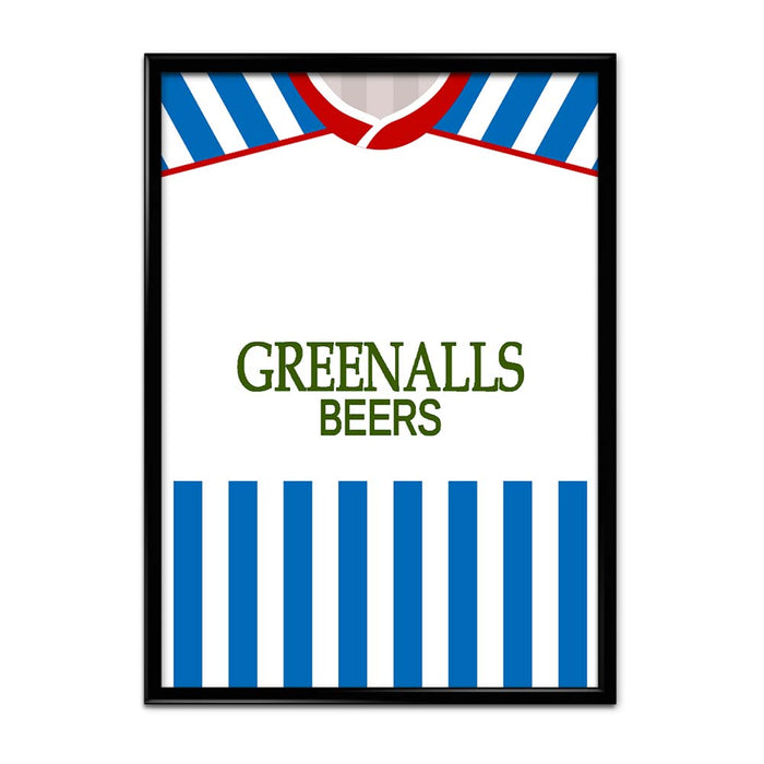 Huddersfield 1987 Football Shirt Art Print