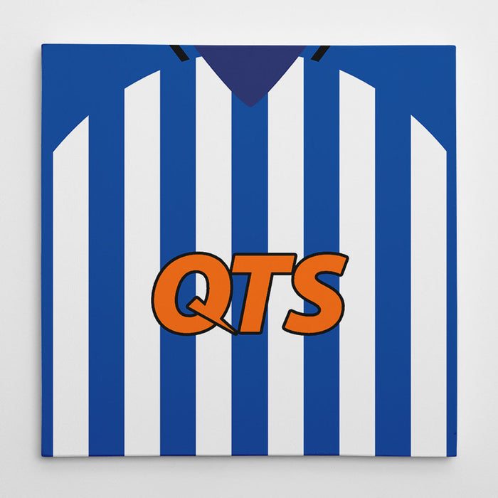 Kilmarnock 18/19 Football Canvas Print
