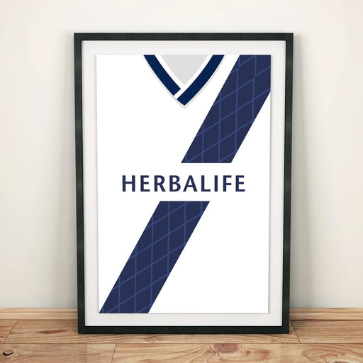 LA Galaxy 2012 Football Shirt Art Print