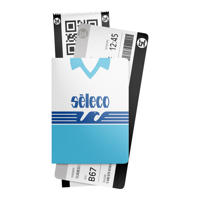 Lazio 1992 Retro Passport Holder