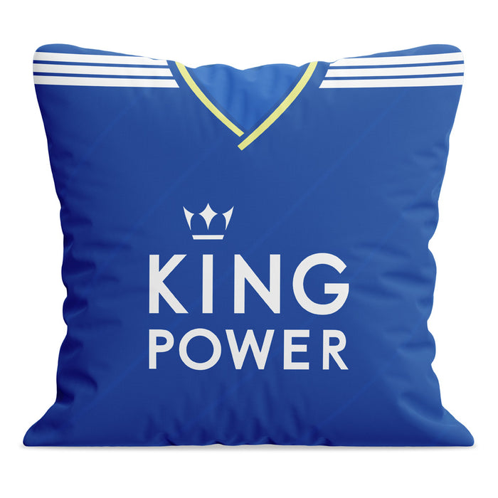 Leicester City 18/19 Football Cushion
